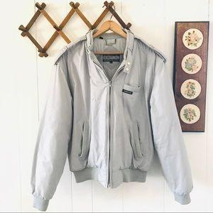 Members Only Vintage Padded Bomber Flight Jacket